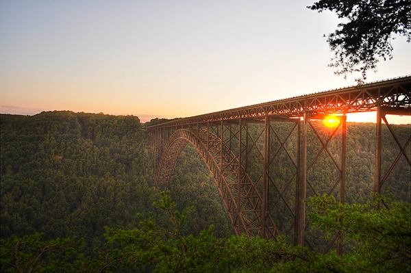 Sunset on the New River Gorge (HDR).jpg