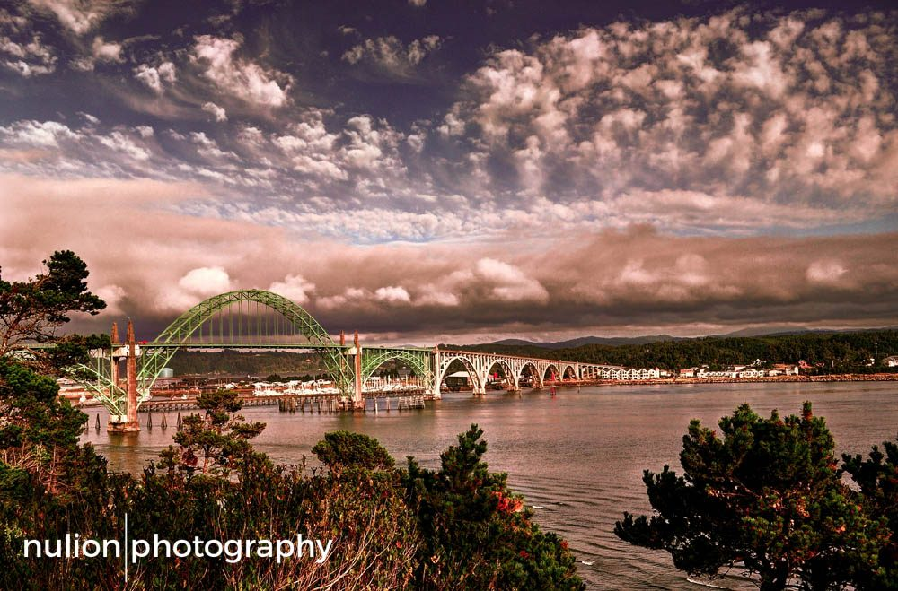 Bridge-over-a-Newport-Sunset