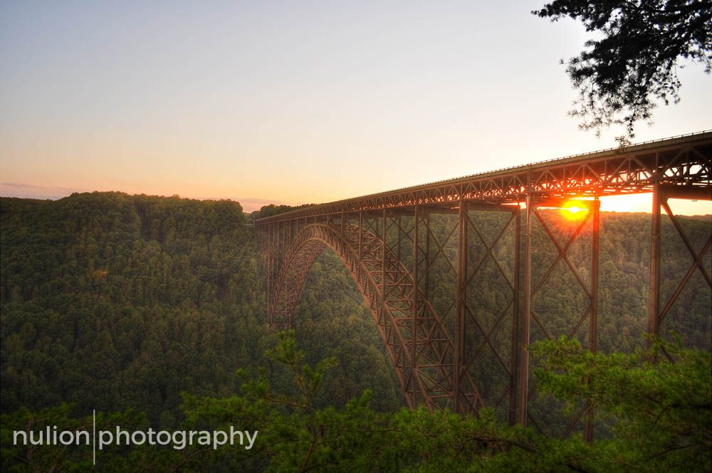 Sunset-on-the-New-River-Gorge-HDR